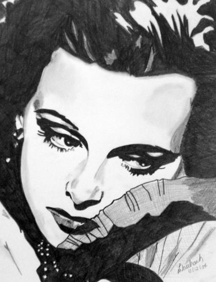 Hedy Lamarr by damnprecious